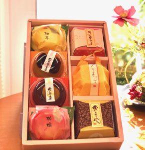 都菓集 和菓子の写真