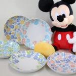 ミッキーパスタ皿の写真