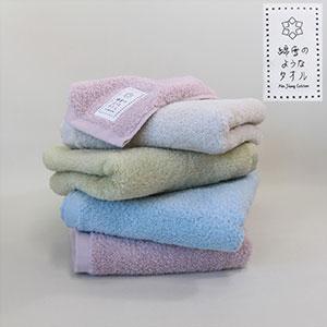 綿雪のようなタオルの画像