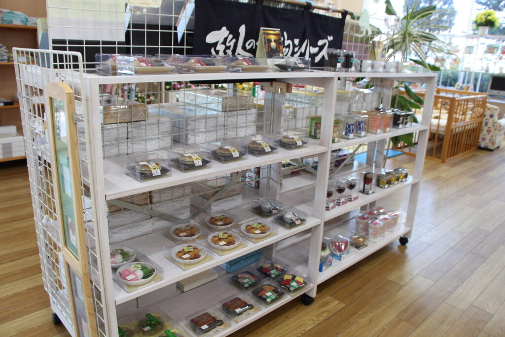 キャンドルコーナーの写真