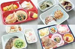 4種類の弁当の画像