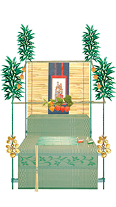 スチール製盆棚の画像