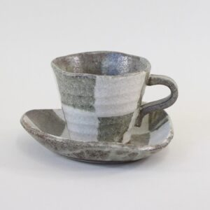 和陶器コーヒーカップの画像
