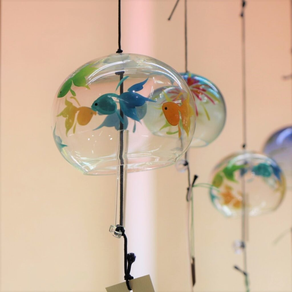 ガラス製風鈴の画像